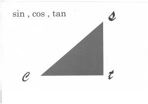 三角関数覚え方が無理な中高大学生
